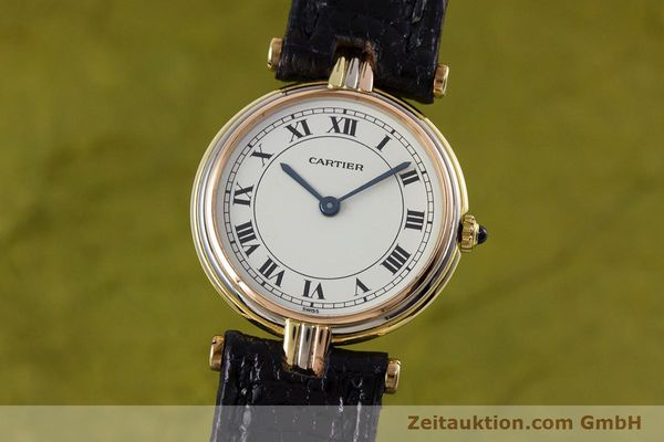 Used luxury watch Cartier * 18 ct gold quartz Kal. 81  | 153120 04