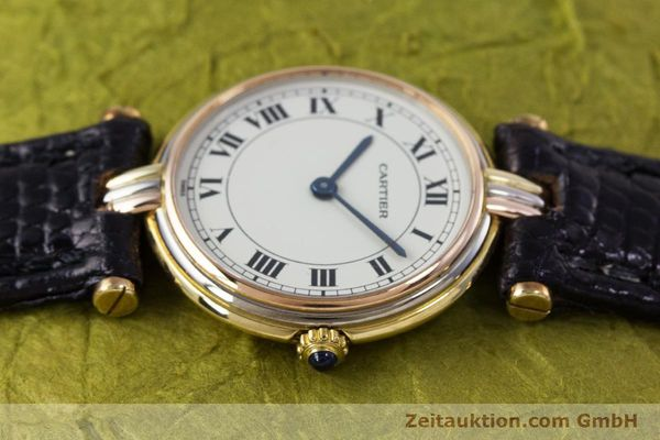 Used luxury watch Cartier * 18 ct gold quartz Kal. 81  | 153120 05