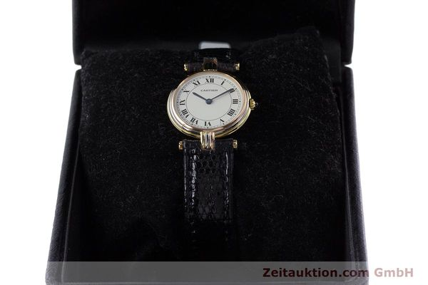 Used luxury watch Cartier * 18 ct gold quartz Kal. 81  | 153120 07