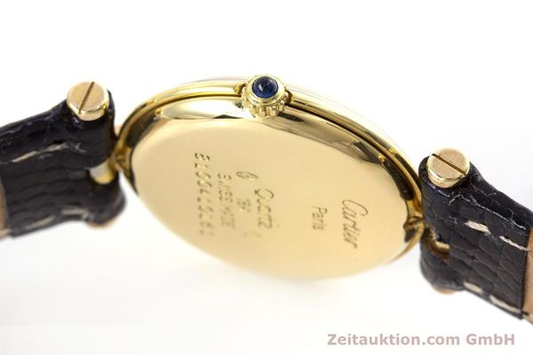 Used luxury watch Cartier * 18 ct gold quartz Kal. 81  | 153120 08