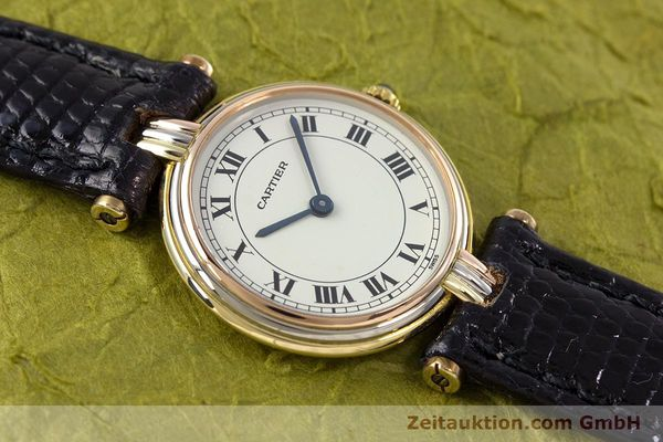 Used luxury watch Cartier * 18 ct gold quartz Kal. 81  | 153120 11