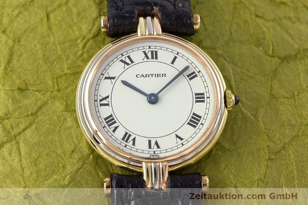 Used luxury watch Cartier * 18 ct gold quartz Kal. 81  | 153120 12