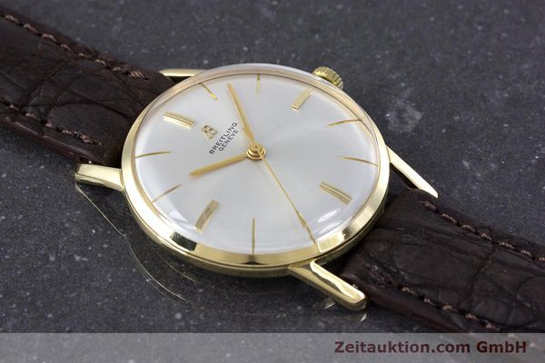 Used luxury watch Breitling * 18 ct gold automatic Kal. Felsa 4000 Ref. 2523 VINTAGE  | 153124 13