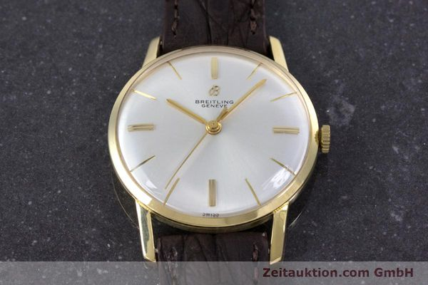 Used luxury watch Breitling * 18 ct gold automatic Kal. Felsa 4000 Ref. 2523 VINTAGE  | 153124 14