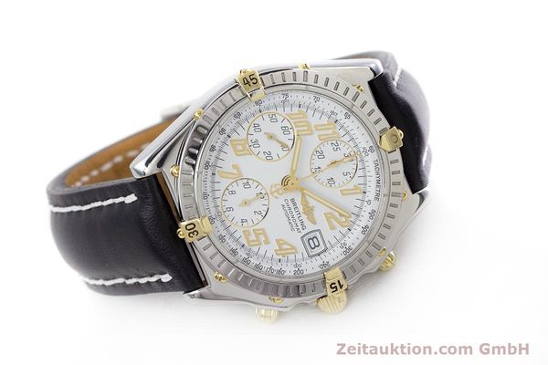 Used luxury watch Breitling Chronomat chronograph steel / gold automatic Kal. B13 ETA 7750 Ref. B13050.1  | 153127 03