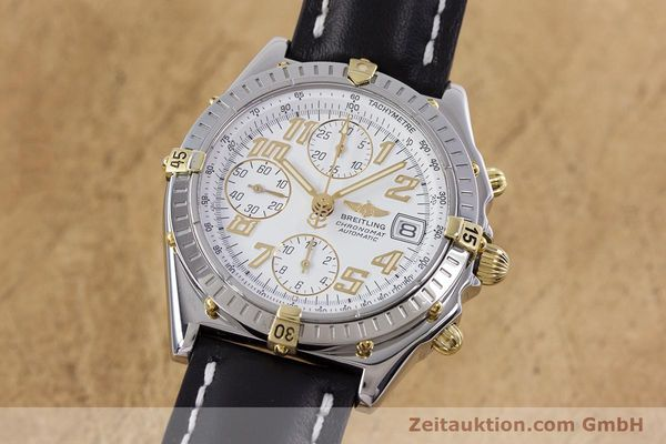 Used luxury watch Breitling Chronomat chronograph steel / gold automatic Kal. B13 ETA 7750 Ref. B13050.1  | 153127 04