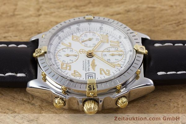 Used luxury watch Breitling Chronomat chronograph steel / gold automatic Kal. B13 ETA 7750 Ref. B13050.1  | 153127 05