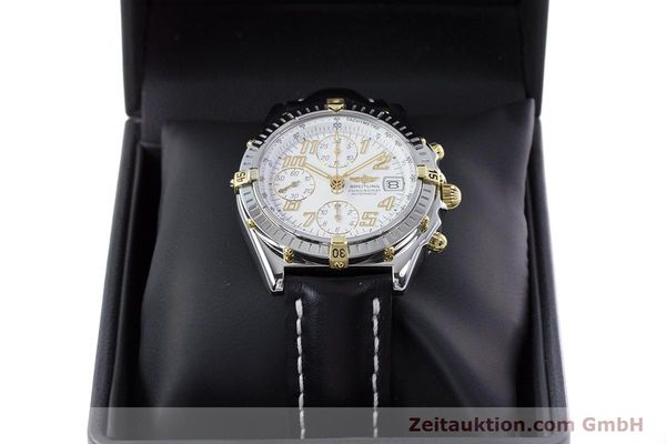Used luxury watch Breitling Chronomat chronograph steel / gold automatic Kal. B13 ETA 7750 Ref. B13050.1  | 153127 07