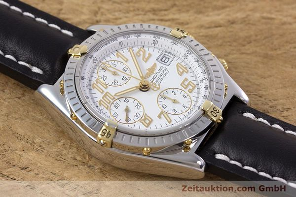 Used luxury watch Breitling Chronomat chronograph steel / gold automatic Kal. B13 ETA 7750 Ref. B13050.1  | 153127 14