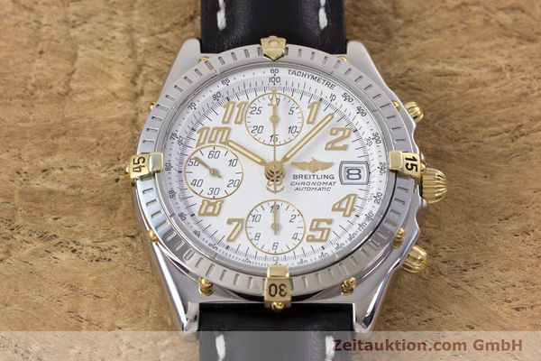 Used luxury watch Breitling Chronomat chronograph steel / gold automatic Kal. B13 ETA 7750 Ref. B13050.1  | 153127 15