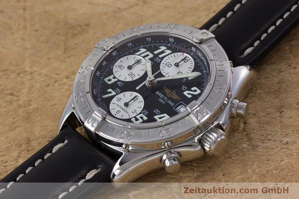 Used luxury watch Breitling Colt chronograph steel automatic Kal. B13 ETA 7750 Ref. A13335  | 153128 01