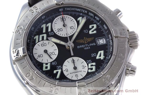 Used luxury watch Breitling Colt chronograph steel automatic Kal. B13 ETA 7750 Ref. A13335  | 153128 02