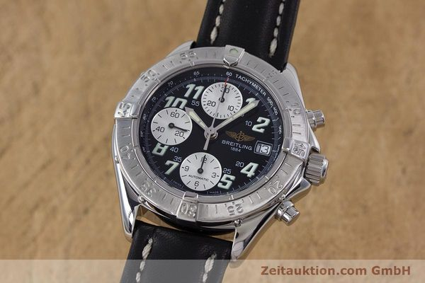 Used luxury watch Breitling Colt chronograph steel automatic Kal. B13 ETA 7750 Ref. A13335  | 153128 04