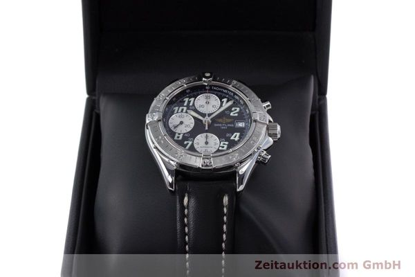 Used luxury watch Breitling Colt chronograph steel automatic Kal. B13 ETA 7750 Ref. A13335  | 153128 07