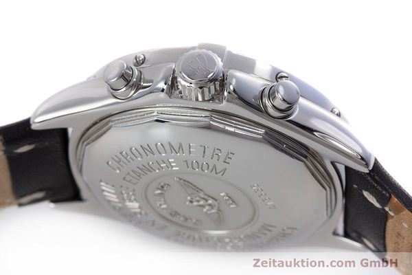 Used luxury watch Breitling Colt chronograph steel automatic Kal. B13 ETA 7750 Ref. A13335  | 153128 08