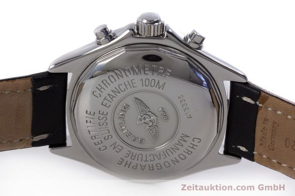 Used luxury watch Breitling Colt chronograph steel automatic Kal. B13 ETA 7750 Ref. A13335  | 153128 09