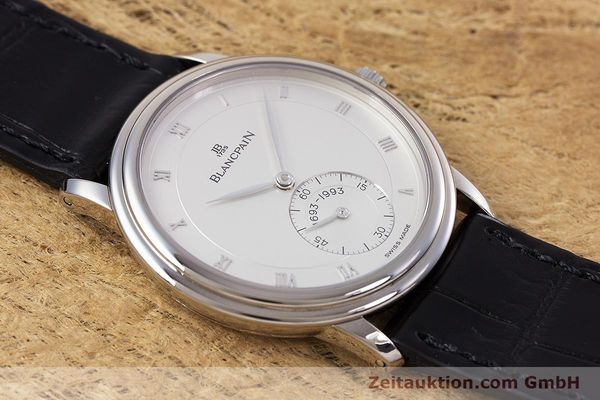 Used luxury watch Blancpain Villeret 18 ct white gold manual winding Kal. 64-1 F. Piguet LIMITED EDITION | 153150 17