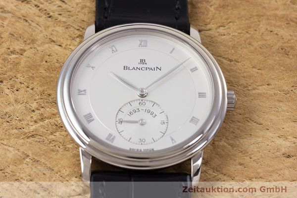 Used luxury watch Blancpain Villeret 18 ct white gold manual winding Kal. 64-1 F. Piguet LIMITED EDITION | 153150 18