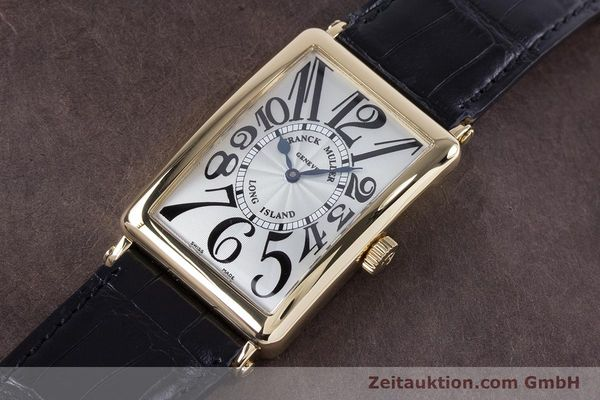 Used luxury watch Franck Muller Long Island 18 ct gold automatic Kal. 2800R ETA 2892A2 Ref. 1000SC  | 153153 01