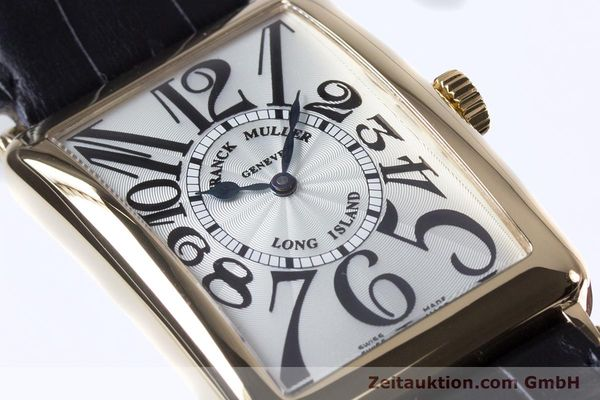 Used luxury watch Franck Muller Long Island 18 ct gold automatic Kal. 2800R ETA 2892A2 Ref. 1000SC  | 153153 02