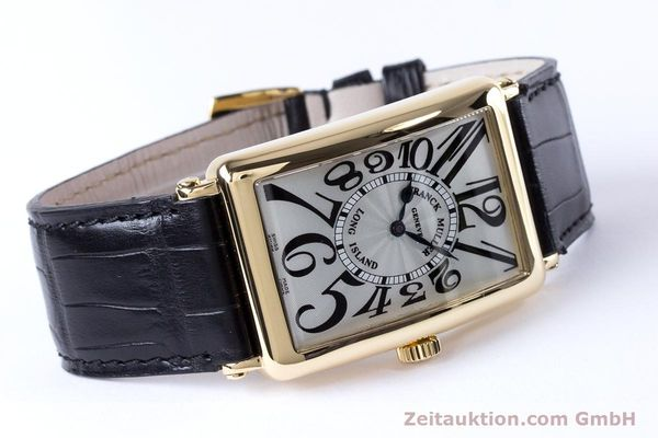 Used luxury watch Franck Muller Long Island 18 ct gold automatic Kal. 2800R ETA 2892A2 Ref. 1000SC  | 153153 03