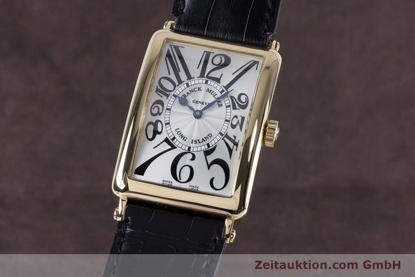 Used luxury watch Franck Muller Long Island 18 ct gold automatic Kal. 2800R ETA 2892A2 Ref. 1000SC  | 153153 04