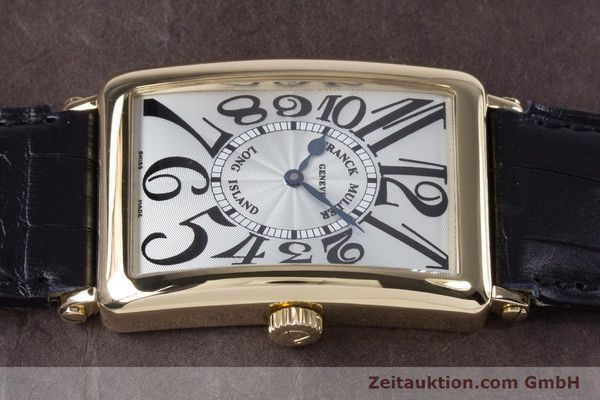 Used luxury watch Franck Muller Long Island 18 ct gold automatic Kal. 2800R ETA 2892A2 Ref. 1000SC  | 153153 05