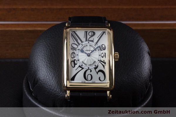 Used luxury watch Franck Muller Long Island 18 ct gold automatic Kal. 2800R ETA 2892A2 Ref. 1000SC  | 153153 07