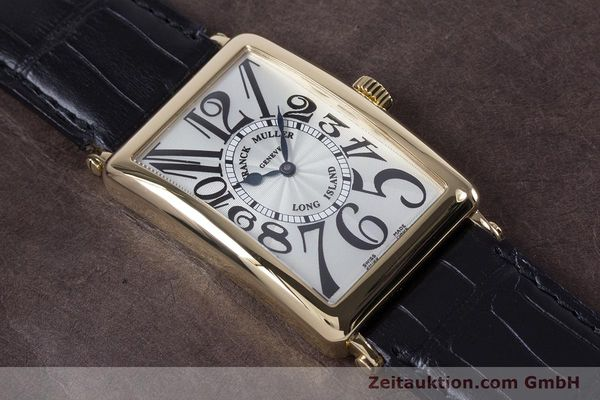 Used luxury watch Franck Muller Long Island 18 ct gold automatic Kal. 2800R ETA 2892A2 Ref. 1000SC  | 153153 15