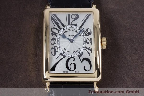 Used luxury watch Franck Muller Long Island 18 ct gold automatic Kal. 2800R ETA 2892A2 Ref. 1000SC  | 153153 16