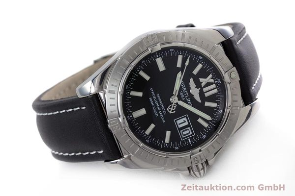 Used luxury watch Breitling Cockpit steel automatic Kal. B49 ETA 2896 Ref. A49350  | 153159 03