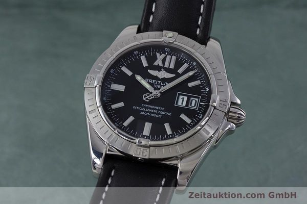 Used luxury watch Breitling Cockpit steel automatic Kal. B49 ETA 2896 Ref. A49350  | 153159 04