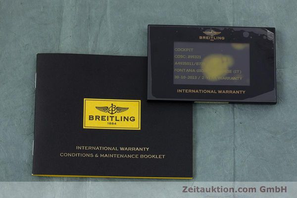 Used luxury watch Breitling Cockpit steel automatic Kal. B49 ETA 2896 Ref. A49350  | 153159 08