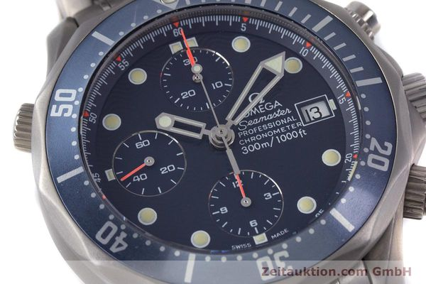 Used luxury watch Omega Seamaster chronograph titanium automatic Kal. 1154 ETA 7750  | 153160 02