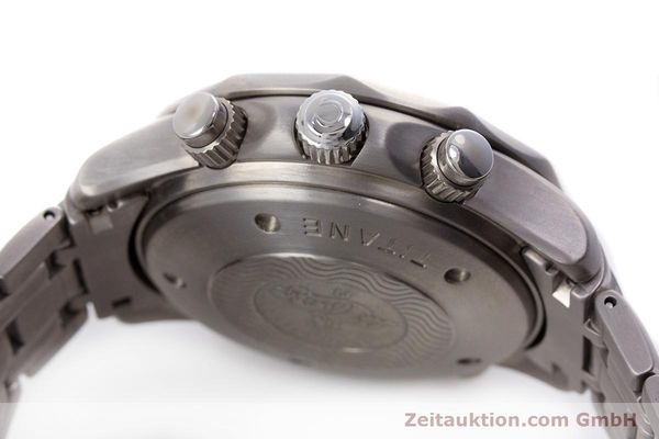 Used luxury watch Omega Seamaster chronograph titanium automatic Kal. 1154 ETA 7750  | 153160 12