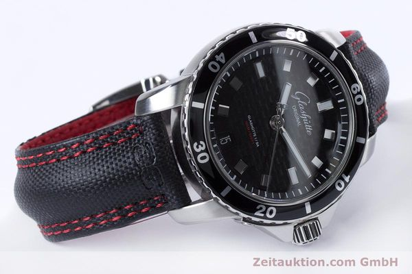 Used luxury watch Glashütte Sport Evolution  steel automatic Kal. GUB 39 Ref. 39-21-06-03-03  | 153163 03