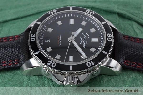 Used luxury watch Glashütte Sport Evolution  steel automatic Kal. GUB 39 Ref. 39-21-06-03-03  | 153163 05
