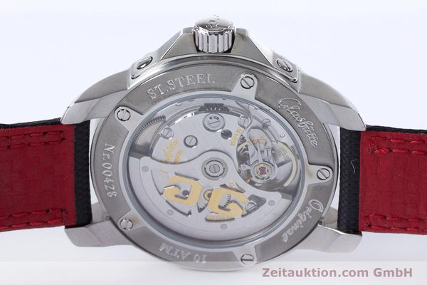 Used luxury watch Glashütte Sport Evolution  steel automatic Kal. GUB 39 Ref. 39-21-06-03-03  | 153163 10