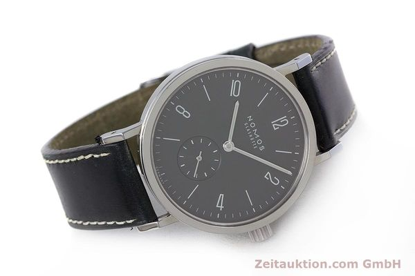 Used luxury watch Nomos Tangente Sport steel manual winding Kal. Alpha  | 153175 03