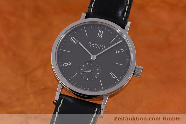 Used luxury watch Nomos Tangente Sport steel manual winding Kal. Alpha  | 153175 04