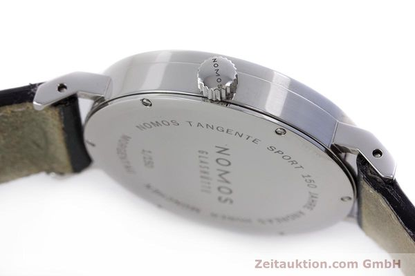 Used luxury watch Nomos Tangente Sport steel manual winding Kal. Alpha  | 153175 08