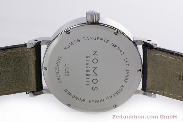 Used luxury watch Nomos Tangente Sport steel manual winding Kal. Alpha  | 153175 09