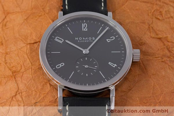 Used luxury watch Nomos Tangente Sport steel manual winding Kal. Alpha  | 153175 15