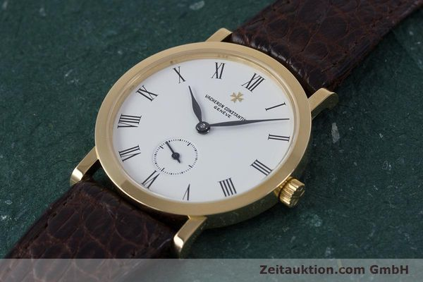 Used luxury watch Vacheron & Constantin * 18 ct gold manual winding Kal. 1014/1 Ref. 92240-2  | 153184 01