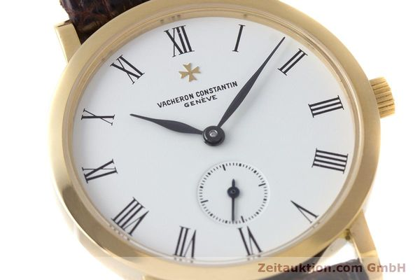 Used luxury watch Vacheron & Constantin * 18 ct gold manual winding Kal. 1014/1 Ref. 92240-2  | 153184 02