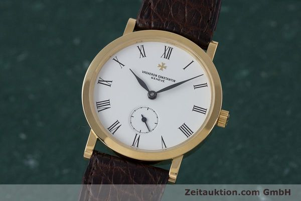 Used luxury watch Vacheron & Constantin * 18 ct gold manual winding Kal. 1014/1 Ref. 92240-2  | 153184 04