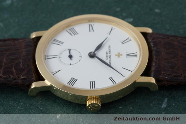 Used luxury watch Vacheron & Constantin * 18 ct gold manual winding Kal. 1014/1 Ref. 92240-2  | 153184 05