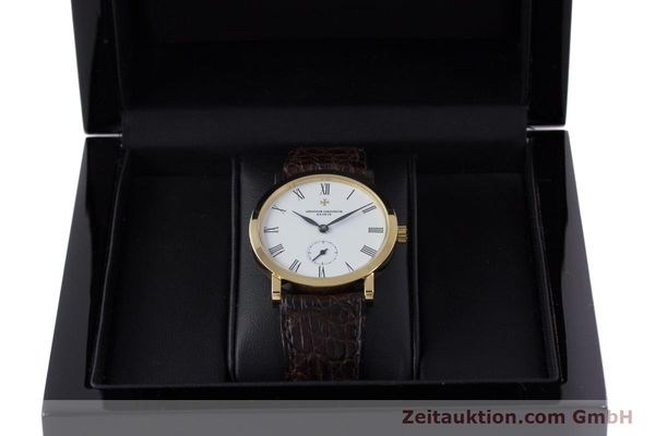 Used luxury watch Vacheron & Constantin * 18 ct gold manual winding Kal. 1014/1 Ref. 92240-2  | 153184 07