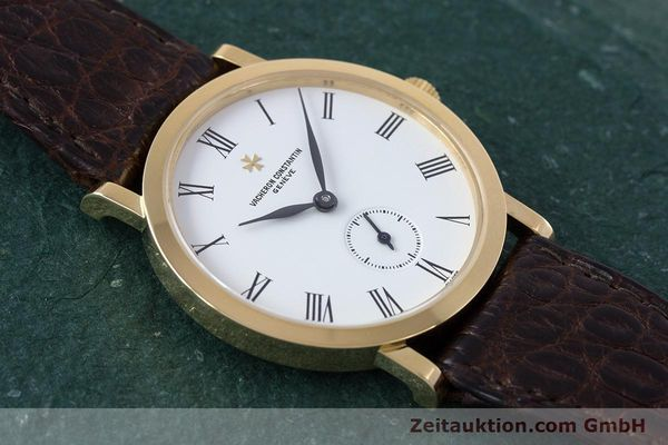 Used luxury watch Vacheron & Constantin * 18 ct gold manual winding Kal. 1014/1 Ref. 92240-2  | 153184 15