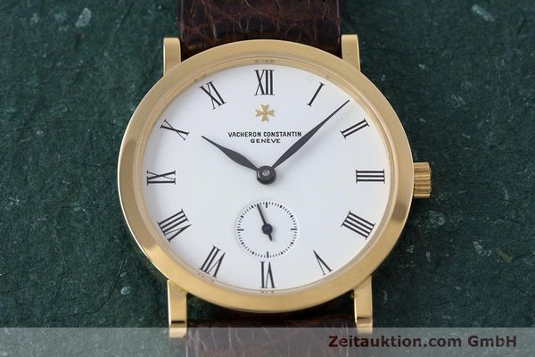 Used luxury watch Vacheron & Constantin * 18 ct gold manual winding Kal. 1014/1 Ref. 92240-2  | 153184 16